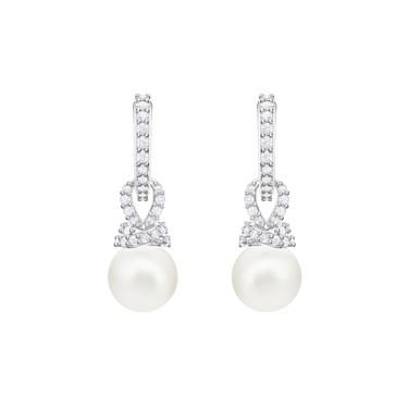 Swarovski Originally Pearl Drop Earrings  - Click to view larger image
