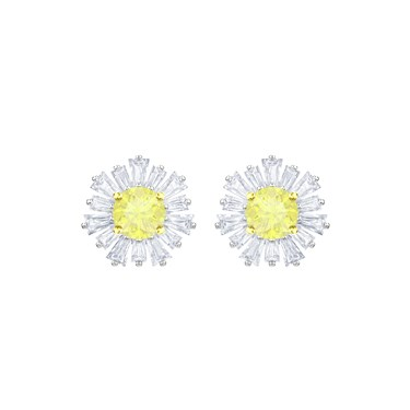 Swarovski Silver Sunshine Earrings  - Click to view larger image