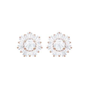 Swarovski Rose Gold Sunshine Earrings  - Click to view larger image