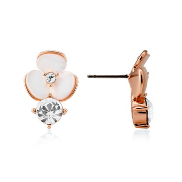 Kate Spade New York Flower Drop Earrings  - Click to view larger image
