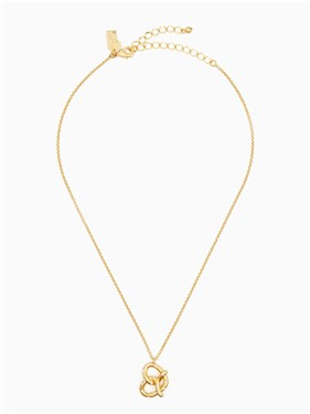 Kate Spade New York Pretzel Mini Pendant Necklace  - Click to view larger image