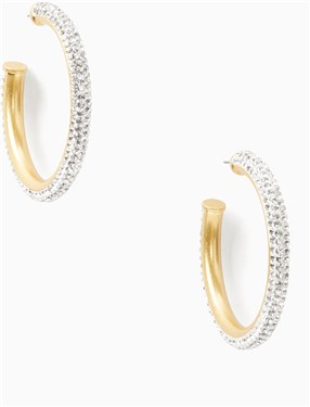 Kate Spade New York Razzle Dazzle Hoops  - Click to view larger image