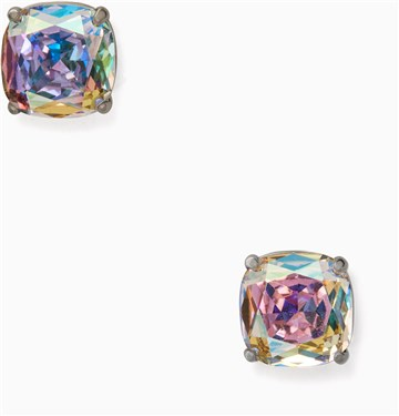 Kate Spade New York Small Square Coloured Stud Earrings  - Click to view larger image