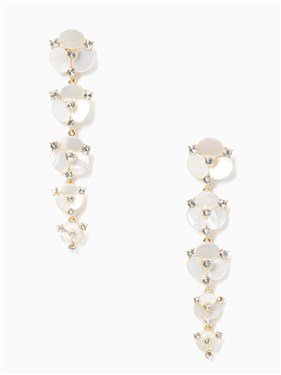 Kate Spade New York Disco Pansy Statement Earrings  - Click to view larger image
