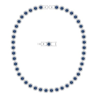 Swarovski Angelic All Around Blue Necklace  - Click to view larger image