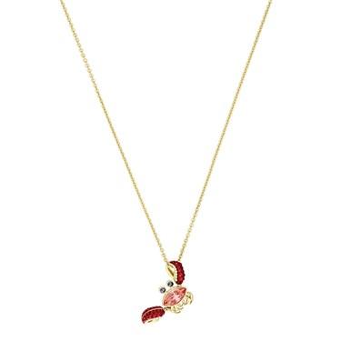 Swarovski Ocean Crab Necklace  - Click to view larger image