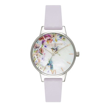 Olivia Burton Mother of Pearl Hummingbird Watch  - Click to view larger image