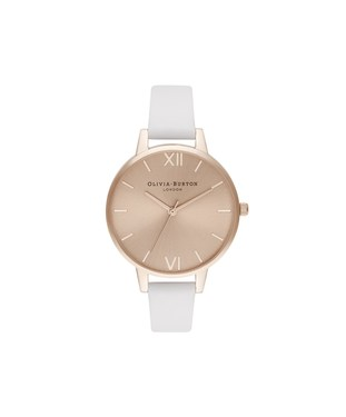 Olivia Burton Demi Blush & Pale Rose Gold Watch  - Click to view larger image