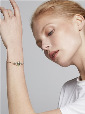 Ted Baker Gold Aneexa Amulet Cuff