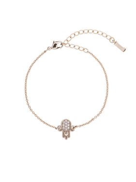 Ted Baker Gold Hersha Hidden Heart Bracelet  - Click to view larger image