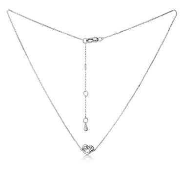 Kate Spade New York Loves Me Knot Pendant Necklace  - Click to view larger image