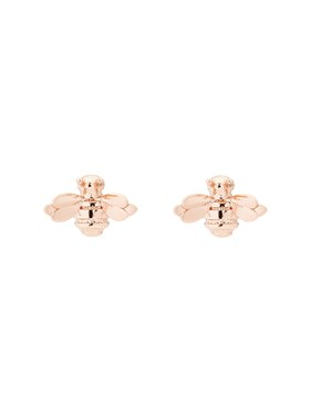 Ted Baker Rose Gold Double Bee Earrings