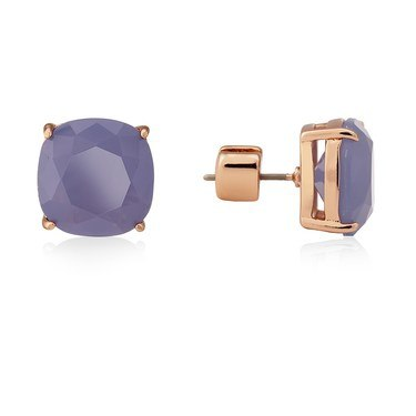 Kate Spade New York Purple Small Square Stud Earrings  - Click to view larger image