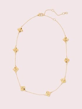 Kate Spade New York Flower Necklace  - Click to view larger image