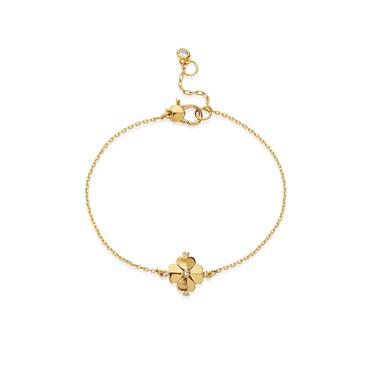 Kate Spade New York Gold Spade Flower Bracelet  - Click to view larger image