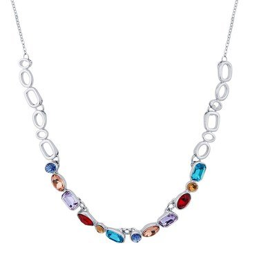 August Woods Multicoloured Chain Necklace  - Click to view larger image