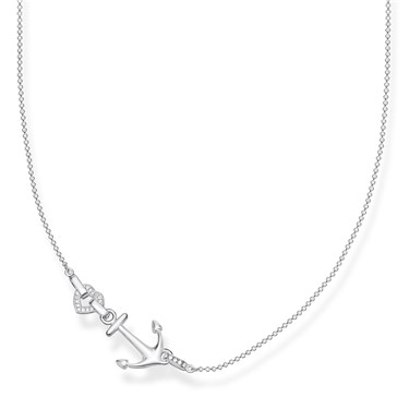 Thomas Sabo Love Anchor Necklace  - Click to view larger image