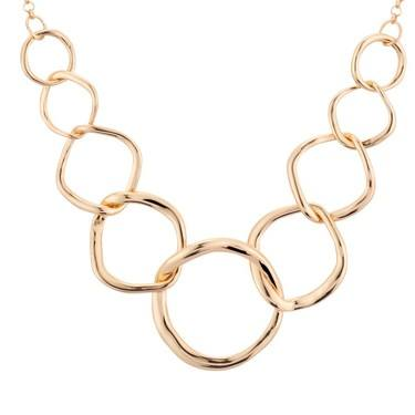 August Woods Gold Circlet Necklace  - Click to view larger image