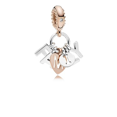 Pandora Perfect Family Pendant Charm  - Click to view larger image