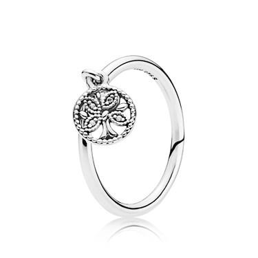 Pandora  Tree of Life Ring  - Click to view larger image