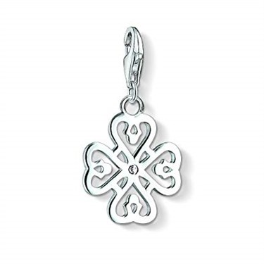 Thomas Sabo Clover Leaf charm  - Click to view larger image