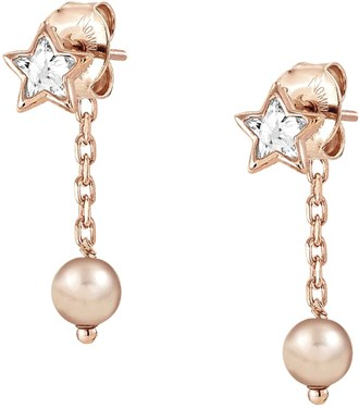 Nomination Rose Gold Bella Dream Crystal Earrings  - Click to view larger image