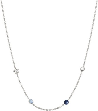 Nomination Silver Bella Dream Crystal Necklace  - Click to view larger image
