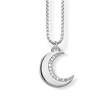 Thomas Sabo Moon Necklace  - Click to view larger image