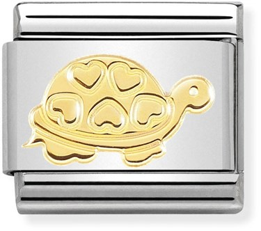 Nomination Gold Turtle Charm  - Click to view larger image