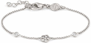 Nomination Silver Primavera Flower Bracelet  - Click to view larger image