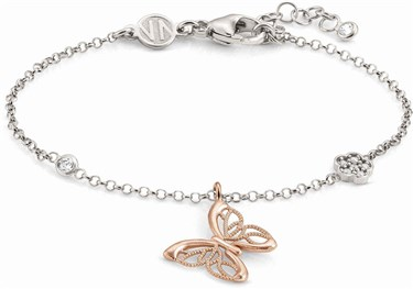 Nomination Rose Gold Primavera Butterfly Bracelet  - Click to view larger image