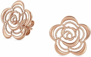 Nomination Rose Gold Primavera Flower Earrings  - Click to view larger image