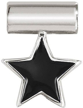 Nomination Silver SeiMia Black Star Charm   - Click to view larger image