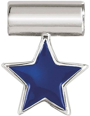 Nomination Silver SeiMia Blue Star Charm   - Click to view larger image