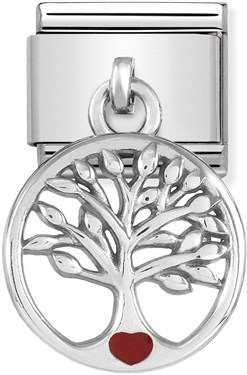Nomination Tree Of Life Hanging Charm   - Click to view larger image