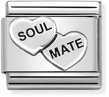 Nomination Soulmate Charm   - Click to view larger image