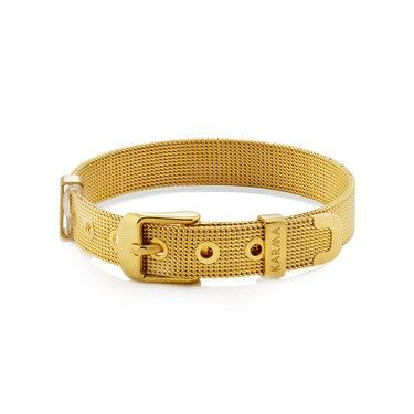 Karma Gold Effect Charm Band  - Click to view larger image