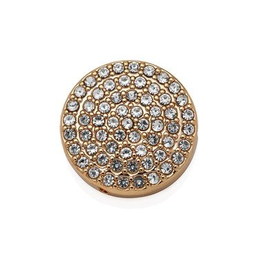 Karma Gold Pave Sparkle Charm  - Click to view larger image
