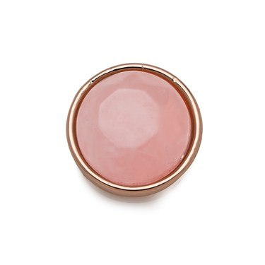 Karma Rose Gold + Pink Charm   - Click to view larger image