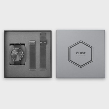CLUSE Special Edition La Bohème Mesh Grey Gift Box  - Click to view larger image