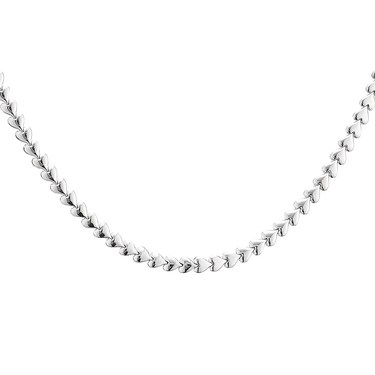 Argento Silver Heart Necklace  - Click to view larger image