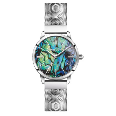 Thomas Sabo Shell Textured Strap Watch  - Click to view larger image
