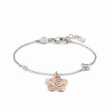 Nomination Rose Gold Primavera Flower Bracelet  - Click to view larger image