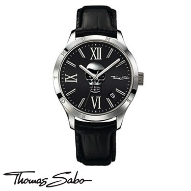 Thomas Sabo Skull Rebel At Heart Watch