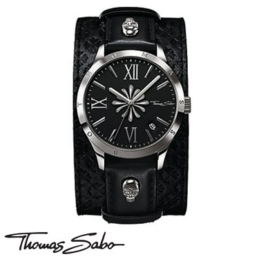 Thomas Sabo Skull And Cross Rebel Watch
