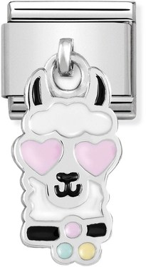 Nomination Llama Head Hanging Charm   - Click to view larger image