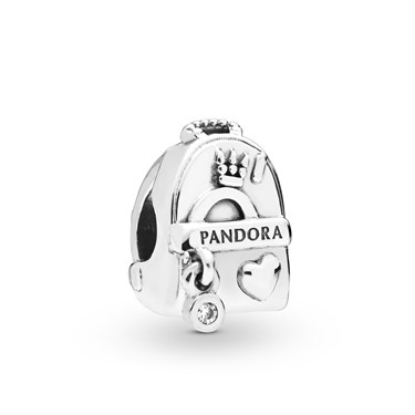 Pandora Adventure Bag Charm  - Click to view larger image