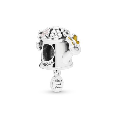 Pandora Blooming Watering Can Charm  - Click to view larger image