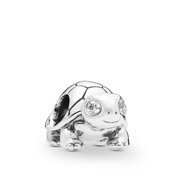 Pandora Bright-Eyed Turtle Charm  - Click to view larger image