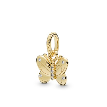 Pandora Decorative Butterfly Pendant  - Click to view larger image